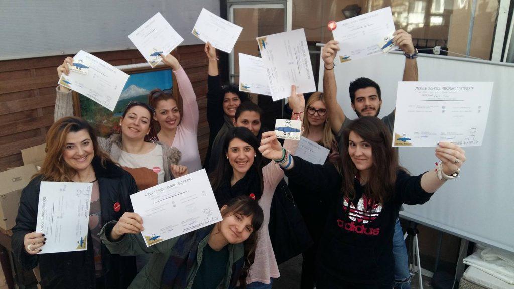 Five-day education of volunteers